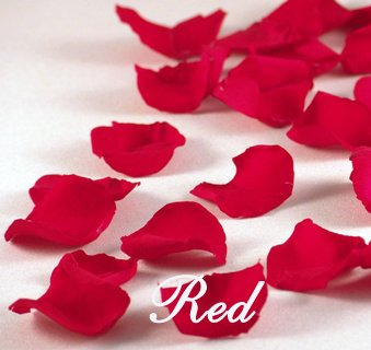 11 000 Rose Petals Wedding Freeze Dried Rose Petals Red 5 Lb