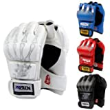 Ship from LA- SKL Half Finger Boxing Gloves Sanda Fighting Sandbag Gloves by Modovo