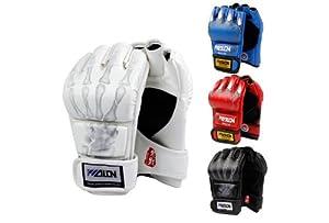 Buy SKL Half Finger Boxing Gloves Sanda Fighting Sandbag Gloves by SKL