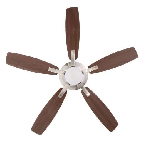 Home decorators petersford 52 in brushed nickel led ceiling fan food industry mag Home decorators petersford fan