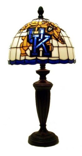 Traditions Artglass KY500 Kentucky Collegiate Tiffany Desk Lamp, at Amazon.com
