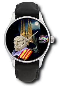 Familia Sagrada Antoni Gaudí Barcelona Catalan Art Collectible 44 mm Gents Wrist Watch
