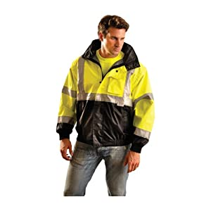 Occunomix Occulux Bomber Jacket M Black/Yellow