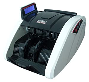GSI Professional Electronic Money/Cash Bill Counter With Side LED Display - Automatic UV, IR, MG1 And MG2 Magnetic Counterfeit Detection - For Retail Stores, Offices and Institutions