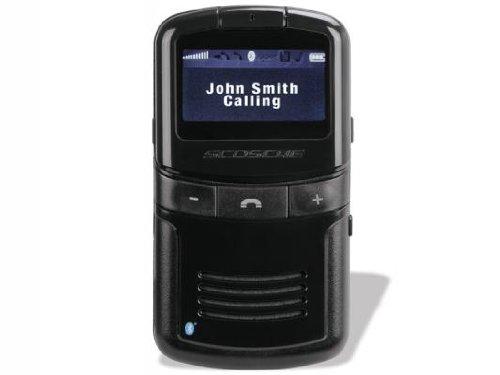 Scosche Solvue Bluetooth Solar Powered Handsfree Speakerphone With Caller Id Display