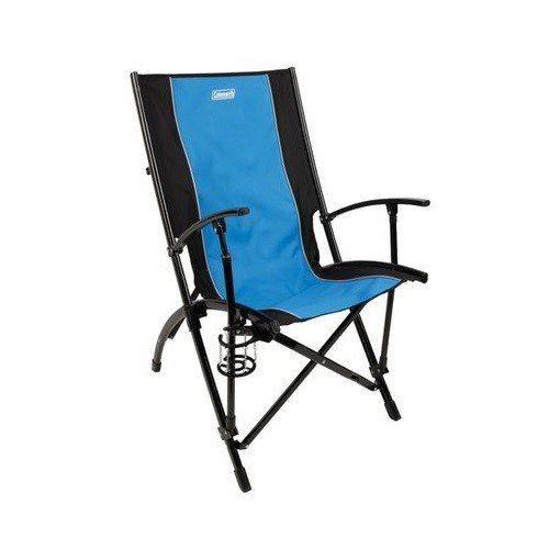 Coleman Company Patio Sling Chair Blue Black Buy Coffee