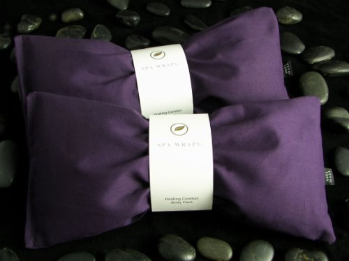 Cotton Aromatherapy Herb Pack - Purple Color - Set Of 2
