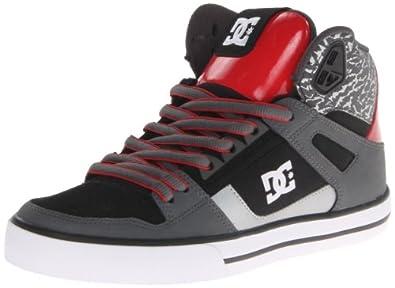 Dc Spartan Hi Wc Se Shoes - Dk Shadow/tru Red