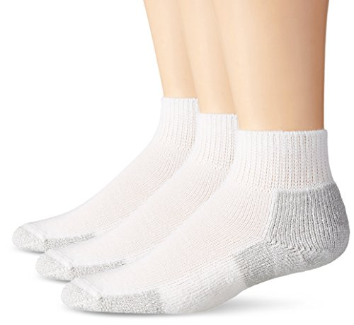 Thorlos  Mens  Running Thick Padded Ankle - Low Cut Socks | JMX