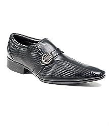 BellBut Black Men Formal Shoes(0651)