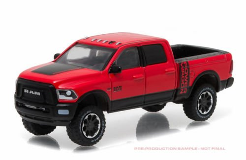 NEW 1:64 GREENLIGHT HOBBY EXCLUSIVE - RED 2017 DODGE RAM 2500 POWER WAGON Diecast Model Car By Greenlight (Dodge Ram Power Wagon compare prices)