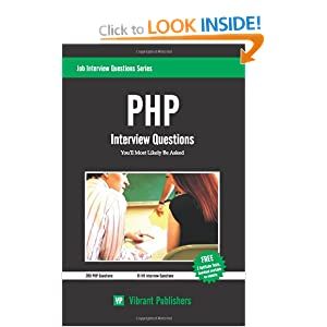 PHP Interview Questions You'll Most Likely Be Asked: 1