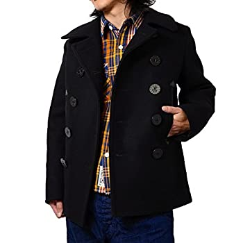 Buzz Rickson's WILLIAM GIBSON COLLECTION BLACK PEA COAT