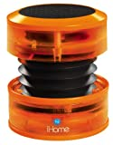 iHome Portable Speaker for MP3 Players (Orange Neon)