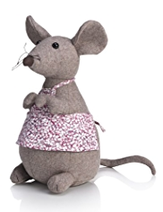 Mrs. Mouse Doorstop