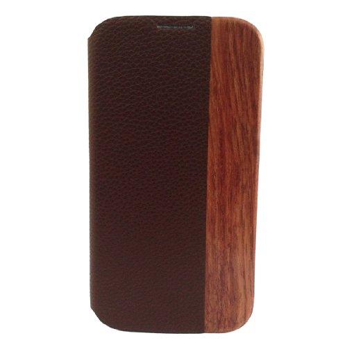 Hua Li Wood Natural Wood+Holster+Plastic For Samsung Galaxy S4/ S 4/ S Iv/ I9500/ I9505 Wood Case Cover Skin