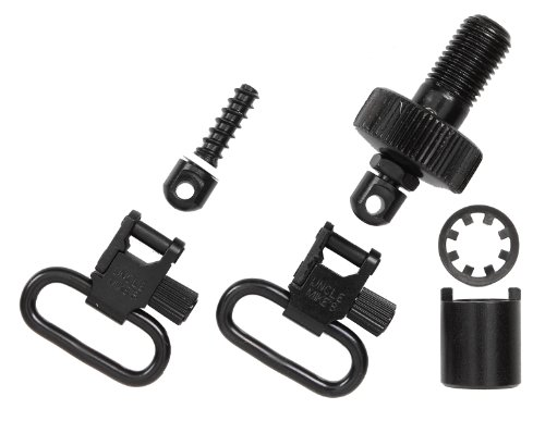 Learn More About Uncle Mike's Quick Detachable Mossberg 500 12-Gauge Bolt Set Sling Swivels (Blued, ...