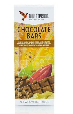 Bulletproof Bar - Chocolate Fuel Bars 3x56g=156g Brand: Bulletproof