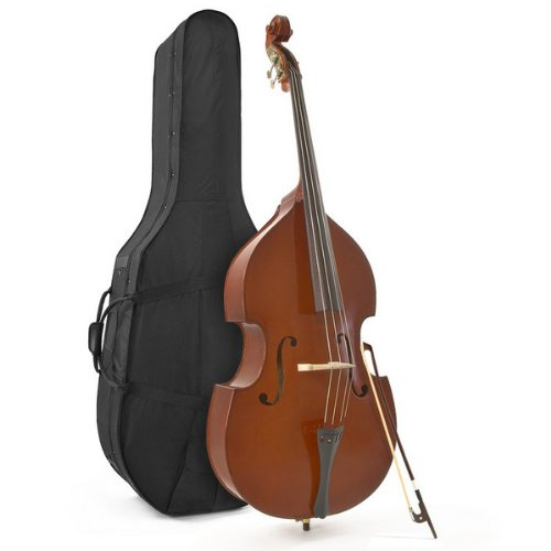 3/4 (Jazz) Size Double Bass + Case