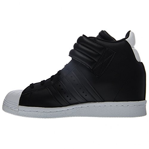 Adidas Originals Women's Superstar Up Strap W Shoes,Black/Black/White,5.5 M US
