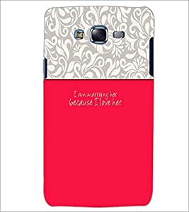 PrintDhaba Quote D-2630 Back Case Cover for SAMSUNG GALAXY J5 (Multi-Coloured)