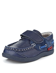 Walkmates Leather Riptape Moccasins