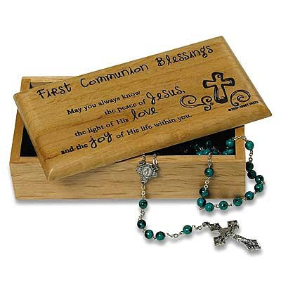 First Communion Memento Box