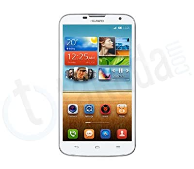 "Huawei G730-U00, Quad Core MT6582 1.3GHz, Dual Sim Card, 5.5"" Screen, Android 4.2, 3G Smartphone, White Color, with Takuda pouch"