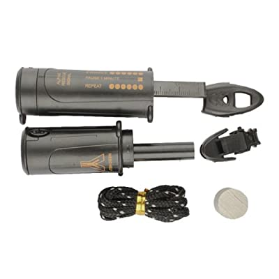 Vktech® 10 In 1 Survival Emergency Kit LED Flashlight Compass Flint With Outdoor Tool by Vktech®