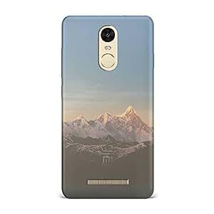 Xiaomi Redmi Note 3 Transparent Printed Design [Scratchproof + Protective] - Snow Mountain Peak Case