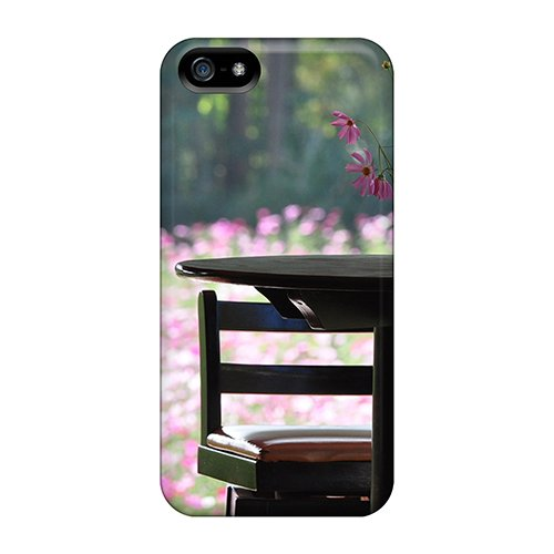 Hfrsp7395Gksrf Tea Time Fashion Tpu 5/5S Case Cover For Iphone