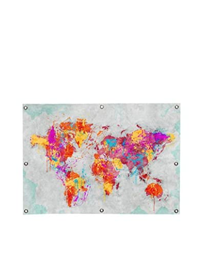 Diego Tirigall Mother Earth Crying Canvas Wall Mural