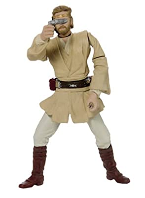 Star Wars Episode 2 Obi-wan Kenobi Jedi Starfighter Pilot Action Figure from Hasbro Inc