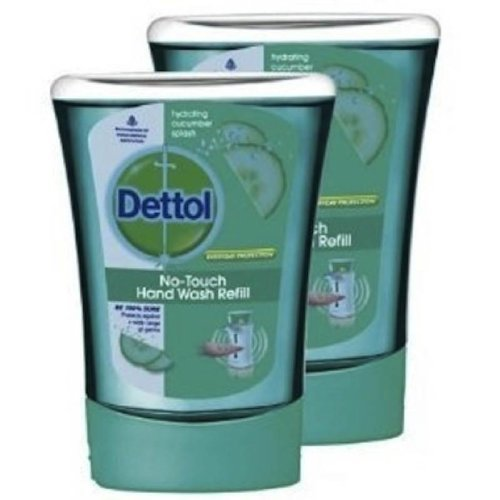 dettol-no-touch-hand-wash-refill-hydrating-cucumber-splash-250ml-pack-of-4-by-dettol