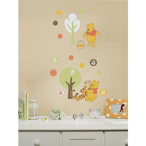Disney Sweet Pooh Collection Wall Decals - 1
