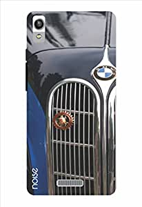Noise Front Grille Blue Printed Cover for Lava Pixel V1