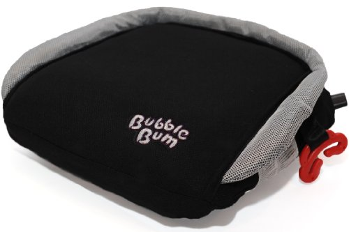 Read About BubbleBum Car Booster Seat (Black-Silver)