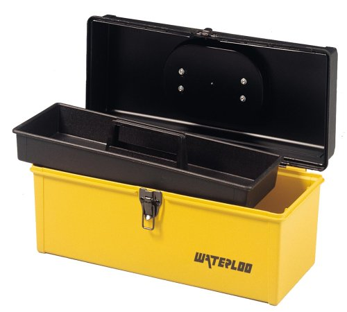 Images for Waterloo HP1641 16-3/4-Inch Long by 7-1/2-Inch Wide by 7-2/3-Inch High Plastic Tool Box with Tray