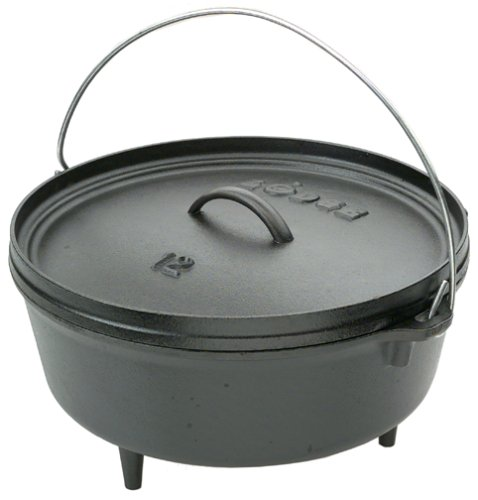 Lodge Logic 6-Quart Pre-Seasoned Camp Dutch Oven