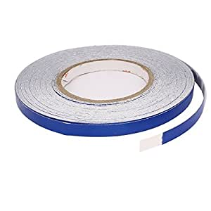 Blue Motorcycle Reflective Tape Sticker 10mm x 50M