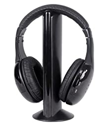 Intex IT-HP904FM Over-Ear Headphones (Black)