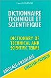 Dictionnaire Technique et Scientifique, 80 000 traductions (anglais/fran�ais)