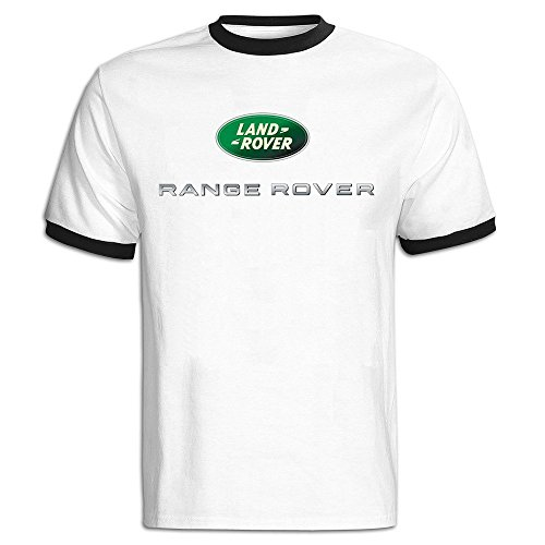Men's Range Rover Logo Baseball T Shirt Black (Land Rover Lifter compare prices)