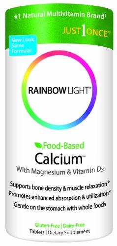 Rainbow Light, Food-Based Calcium, 180 Count