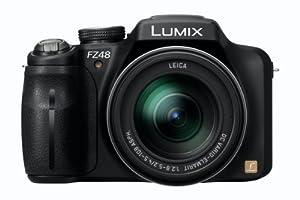 Panasonic Lumix DMC-FZ48EG-K - Cámara digital (Zoom 24x, vídeo Full HD 1080, 25mm, HDMI, power OIS)