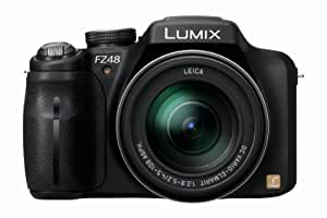 Panasonic Lumix DMC-FZ48EG-K - Cámara digital (Zoom 24x, vídeo Full HD 1080, 25mm, HDMI, power OIS)