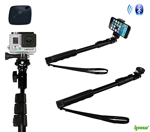 selfie stick gopro camera monopod ipow extendable ultra duty import it all. Black Bedroom Furniture Sets. Home Design Ideas