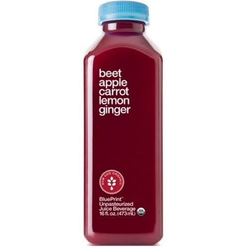 BluePrint Organic Red Beet Apple Carrot Lemon Ginger Juice, 16 Ounce -- 6 per case. (Carrot Beet Juice compare prices)