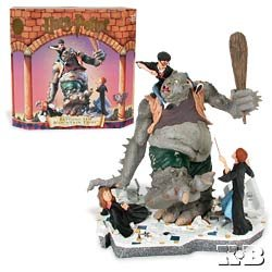 Picture of Mattel Harry Potter Battling The Mountain Troll Ltd Ed Statue Figure (B001NXR2H2) (Harry Potter Action Figures)