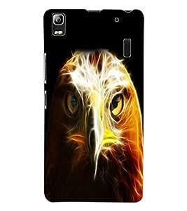 ColourCraft The Eagle Look Design Back Case Cover for LENOVO K3 NOTE